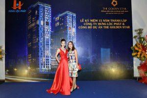 Kỷ niệm 15 năm thành lập Hưng Lộc Phát và giới thiệu dự án The Golden Star